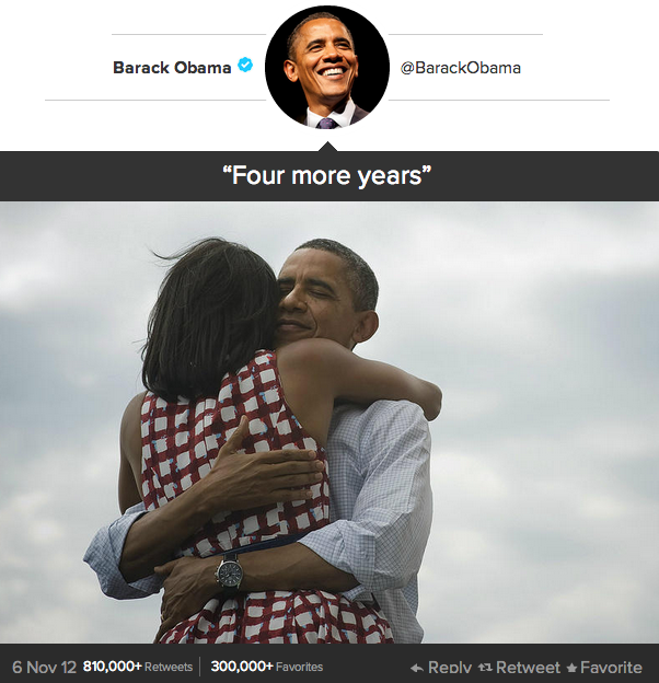 Four More Years - Tweet
