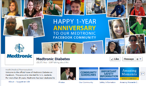 medtronic facebook page